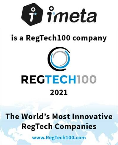 iMeta Named in RegTech100 2021